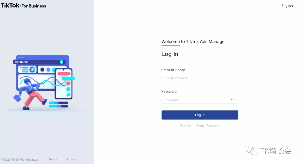 TikTok ads丨手把手教你设置TikTok广告投放后台插图(1)